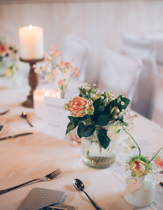 Hochzeitsdekoration – Die Liebe zum Detail